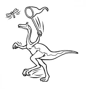 δεινόσαυροι ζωγραφιές