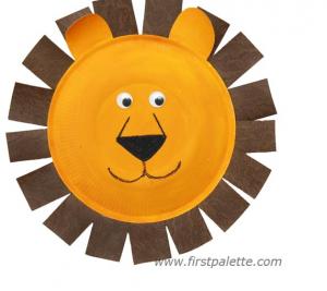 κατασκευές με ζώα λιοντάρι