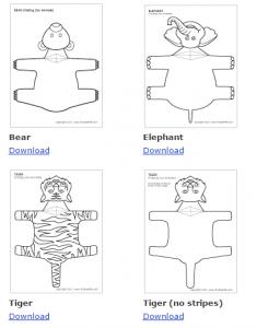 κατασκευές με ζώα αρκούδα
