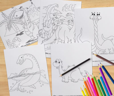 δεινοσαυροι ζωγραφιες