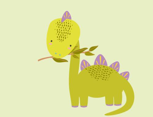 Το ερωτευμένο δεινοσαυράκι