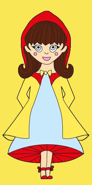 Η Κοκκινοσκουφίτσα φοράει κίτρινα