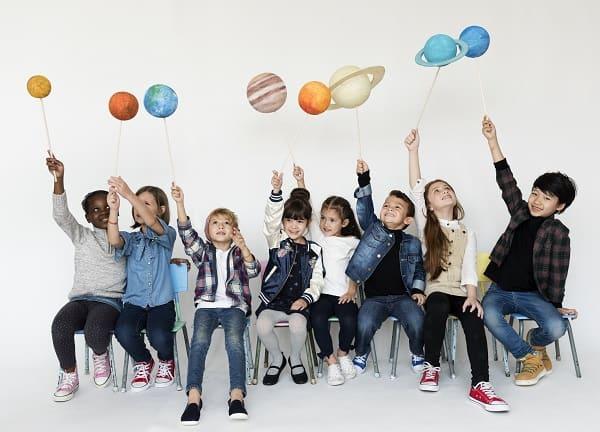 αστρονομία για παιδιά