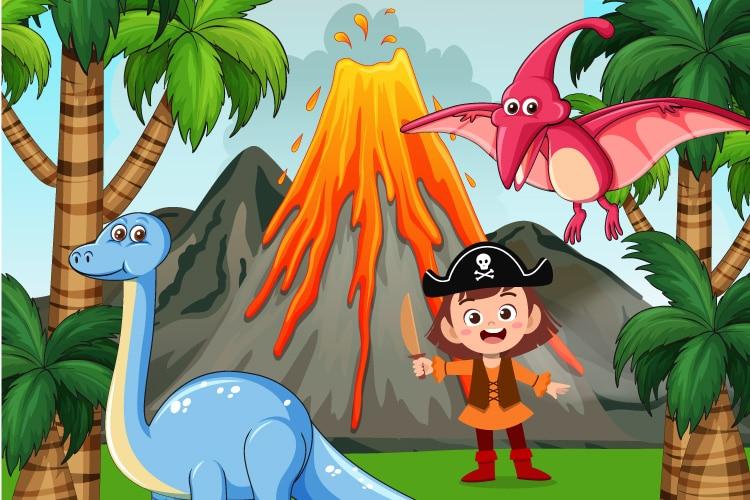 Πειρατές και δεινόσαυροι - ιστορίες