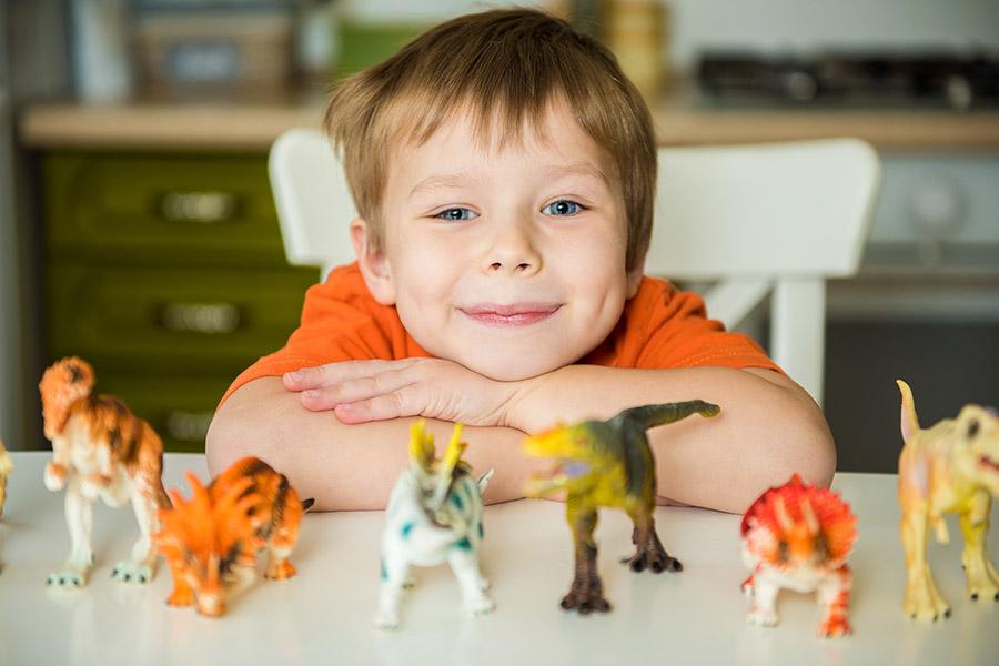 δραστηριότητες με δεινόσαυρους
